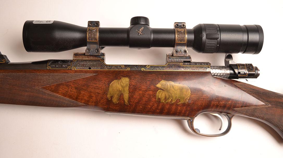 Most Expensive Guns, Dakota Arms Custom Model 70 rifle left