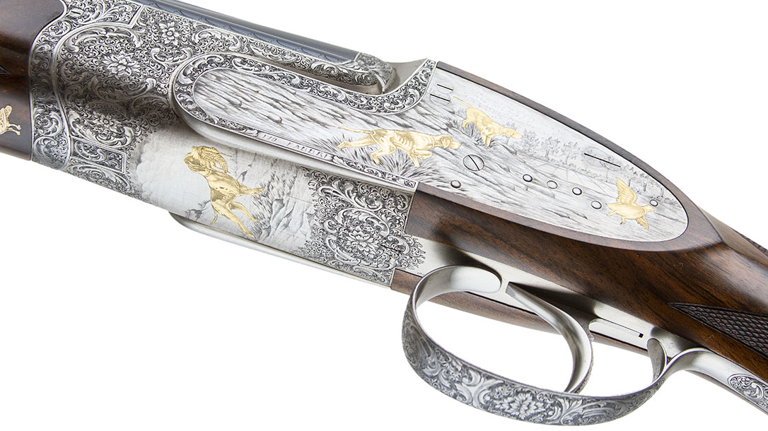 Most Expensive Guns, Fabbri Best Grade double barrel left
