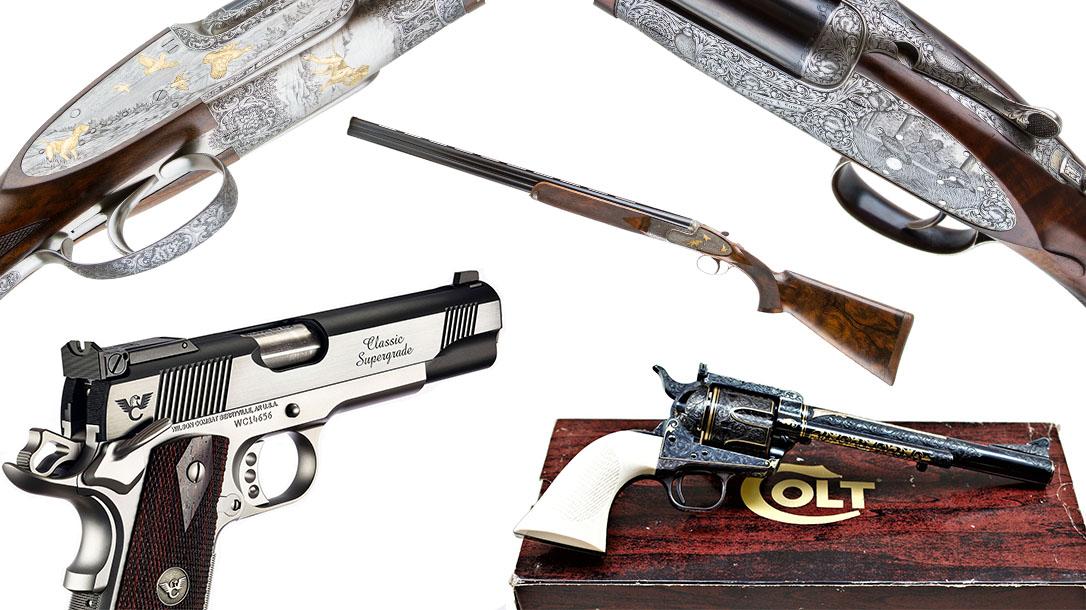 Most Expensive Guns 2018, wilson combat, colt, fabbri, purdey