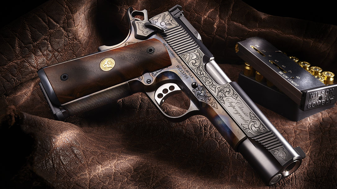 Most Expensive Guns Available, Wilson Combat Classic Supergrade Pistol right