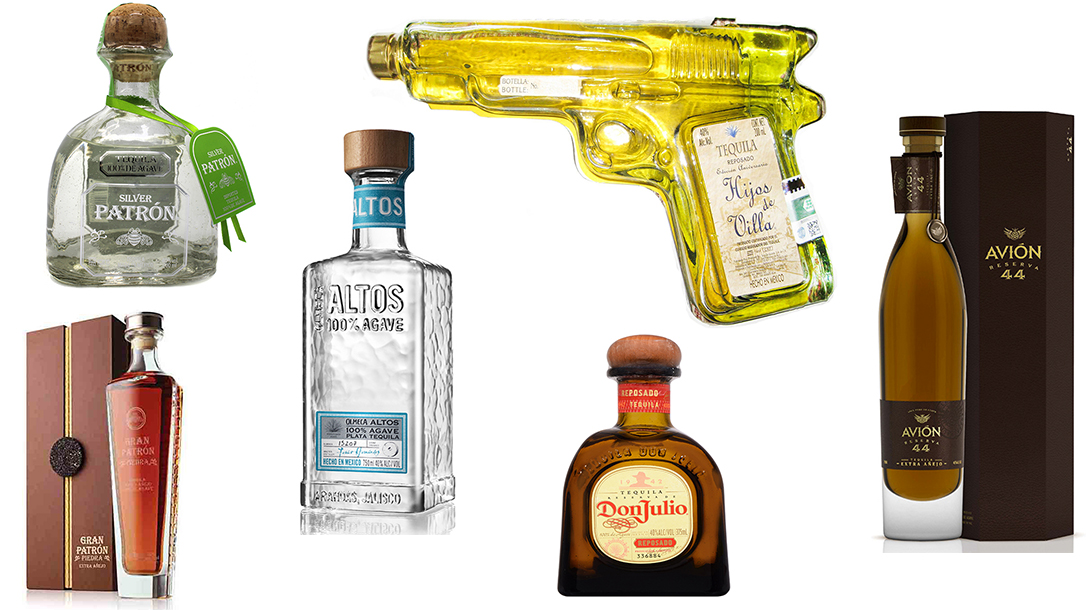Tequila Bottles, best tequila, tequila brands