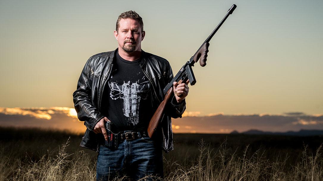 John Tiegen, John Tig Tiegen, 13 Hours, Benghazi Kahr Arms, .45 ACP Auto-Ordnance Thompson