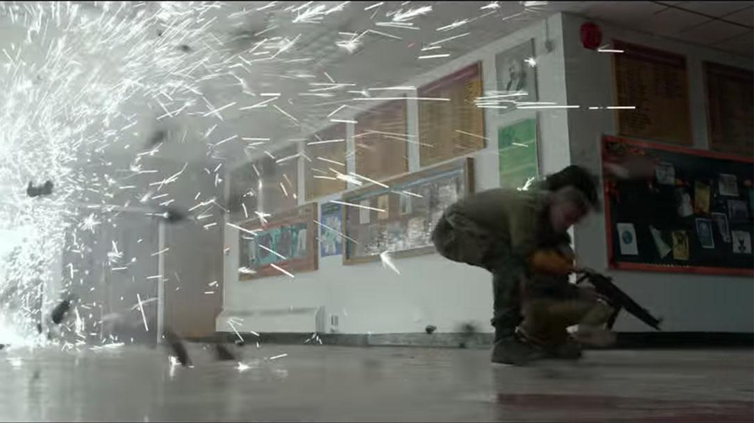 The Predator Trailer, Heckler & Koch MP5A3