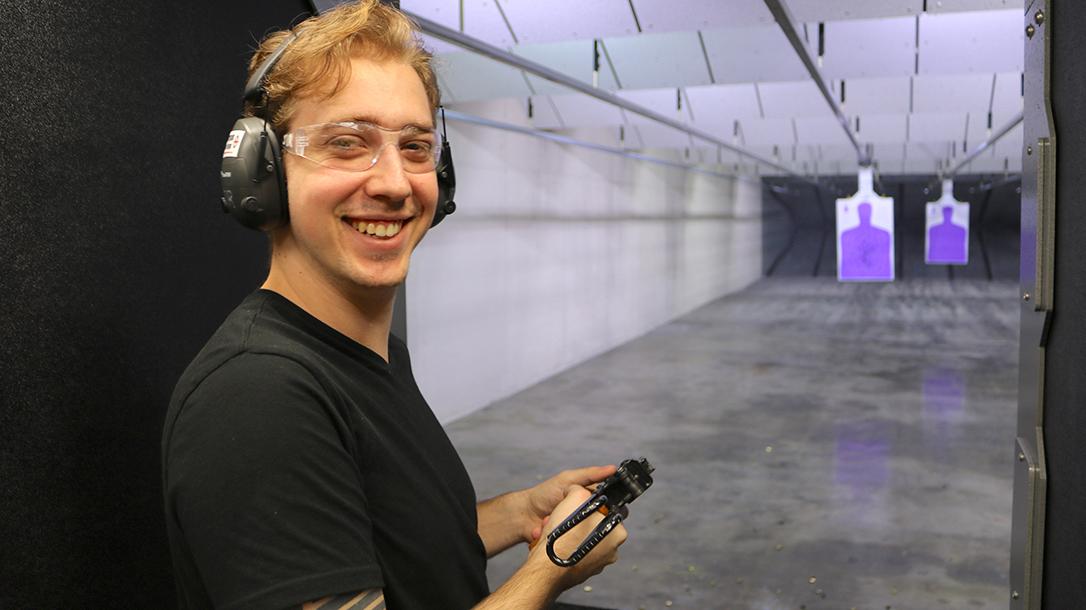 New Orleans Road Trip, Jefferson Indoor Range, shooting