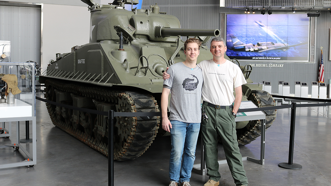New Orleans Road Trip, National WWII Museum, tank
