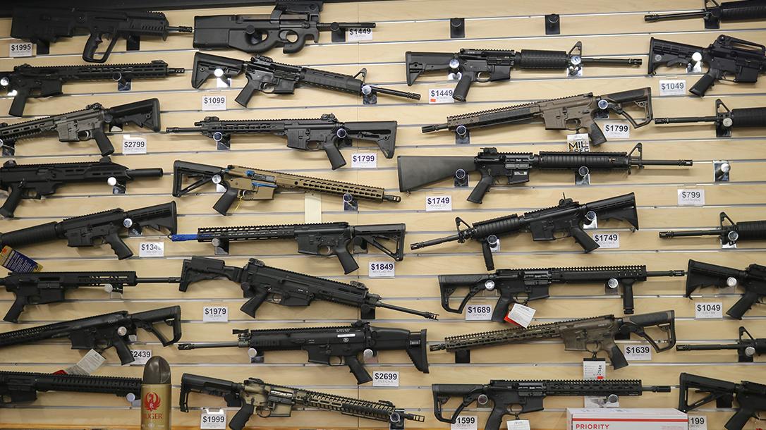 New Orleans Road Trip, Jefferson Indoor Range, gun selection