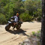 Rokon Motorcycles, sand track