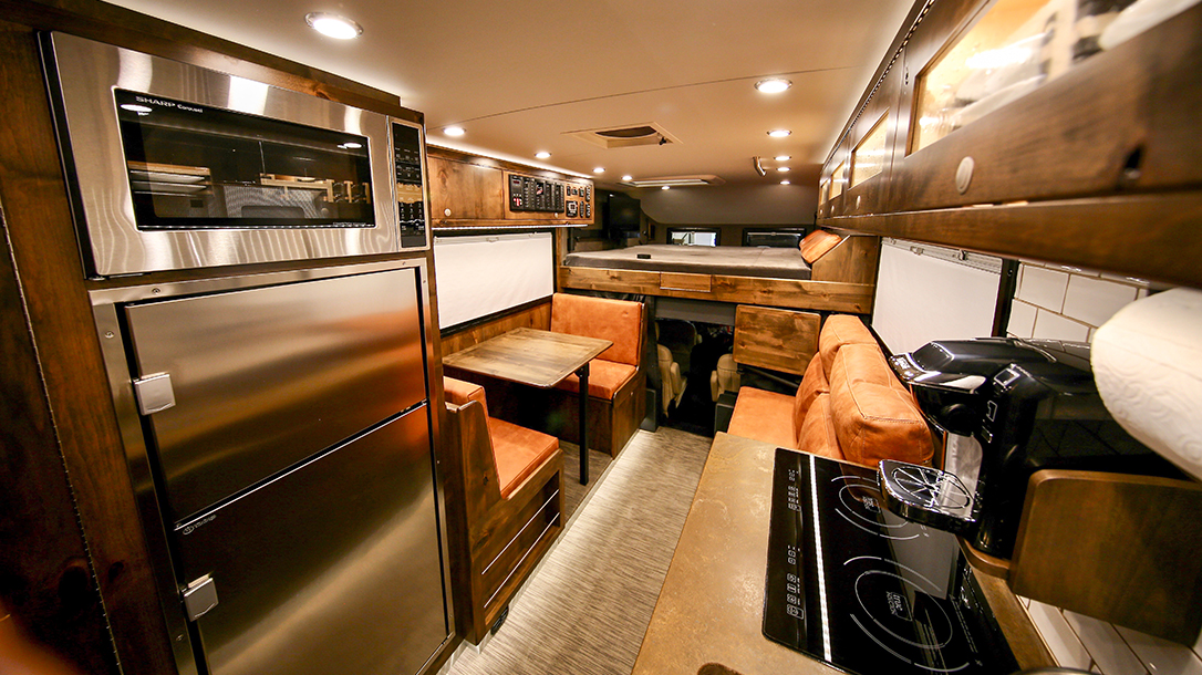 EarthRoamer RV kitchen