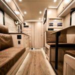 EarthRoamer RV seating