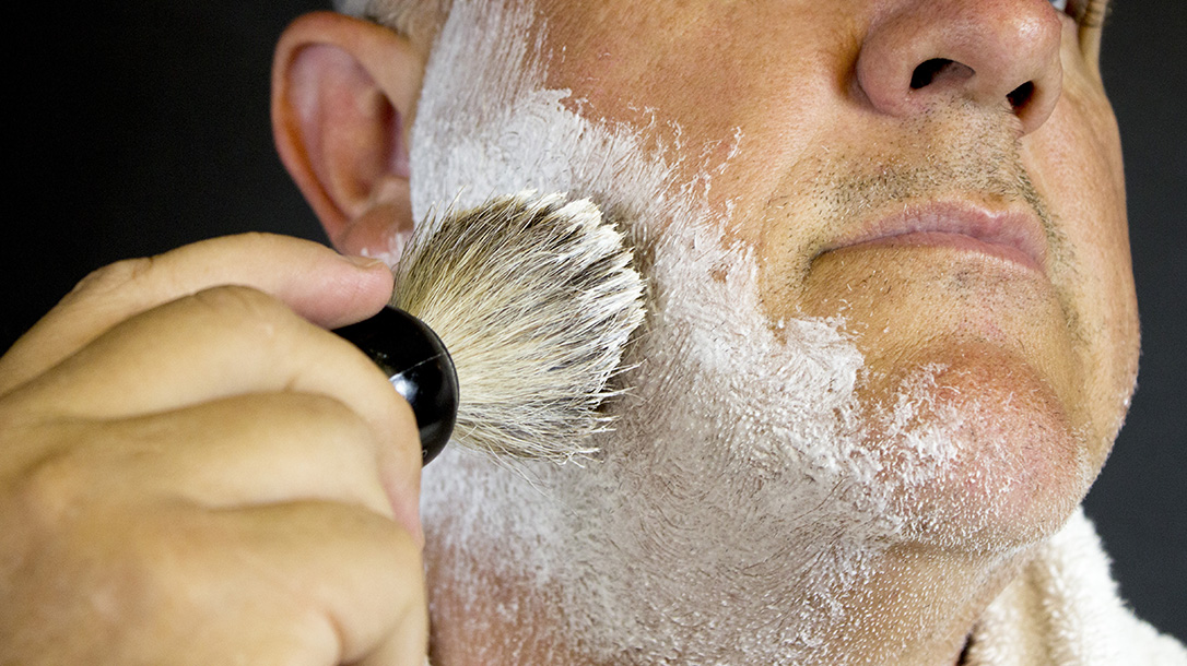 Straight Razors, shaving, cream, brush