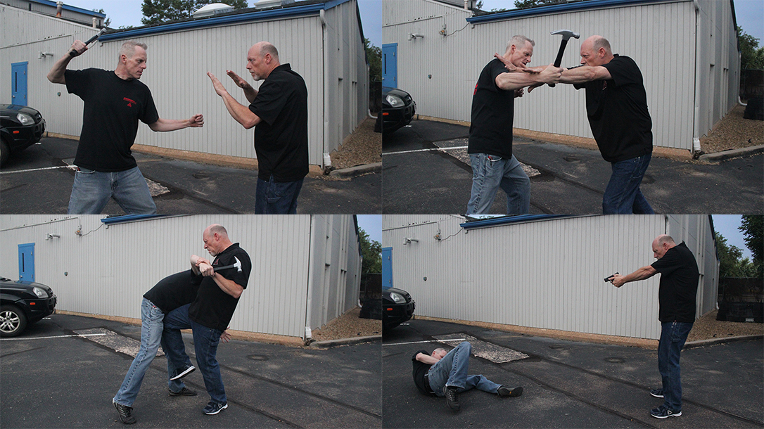 Shoulder Stop, Self-Defense Tactics, fight