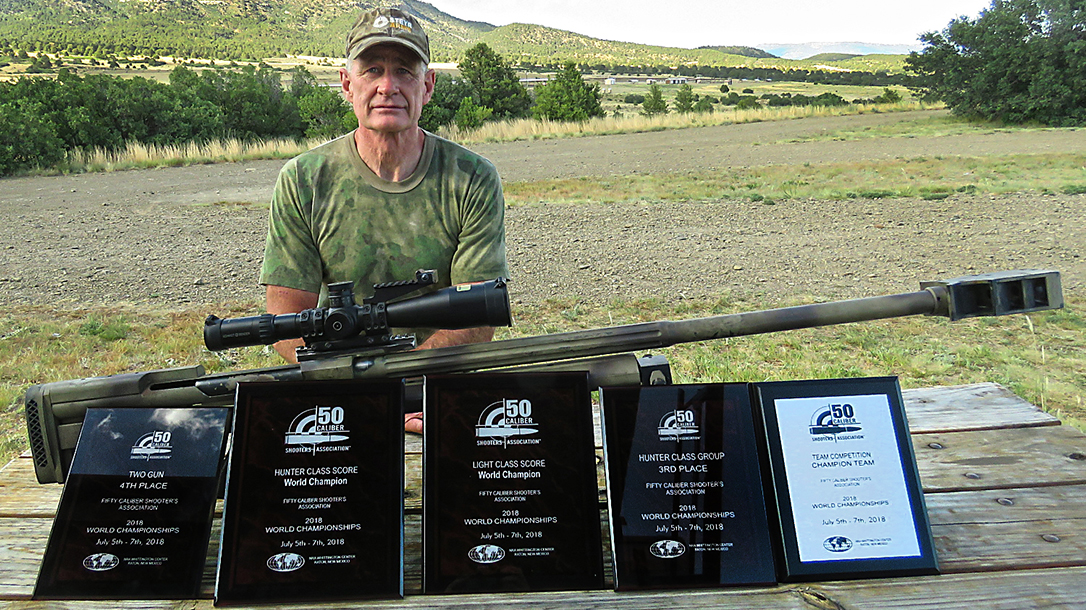 Steyr HS 50 Rifle, Fifty Caliber Shooters Association 2018 World Championships