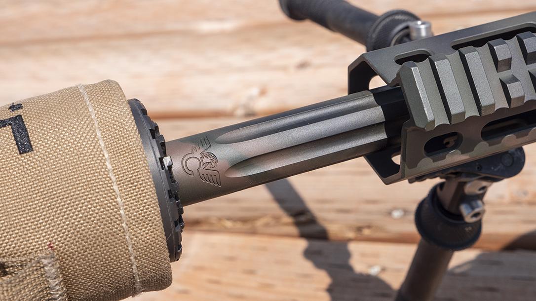 Wilson Combat 458 HAM'R Tactical Hunter rifle, fluted barrel