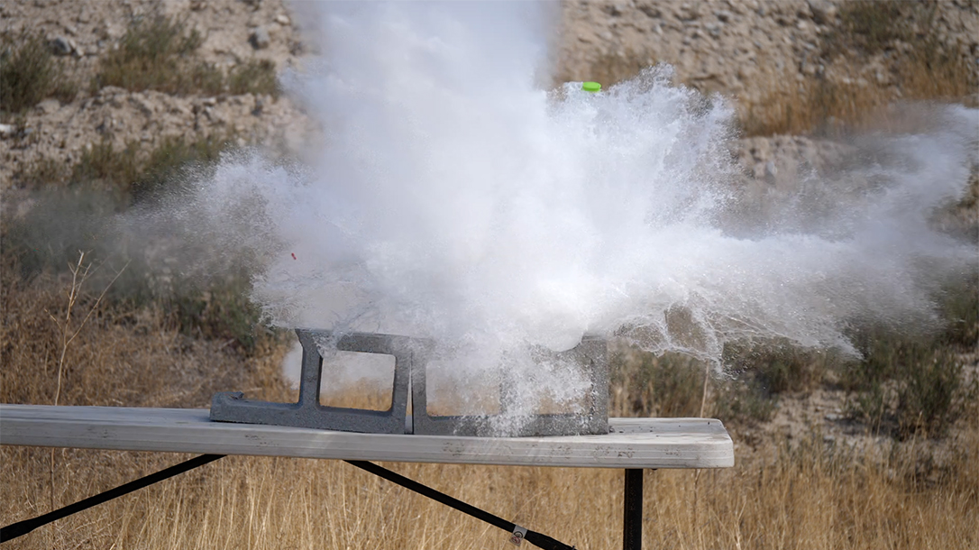 Wilson Combat 458 HAM'R Tactical Hunter rifle, water