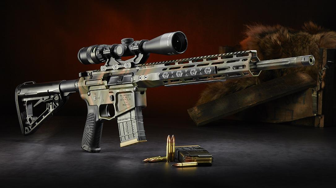 Wilson Combat 300 HAM'R, Tactical Hunter Rifle, profile