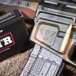 Wilson Combat 300 HAM'R, ammo box, cartridge, rifle