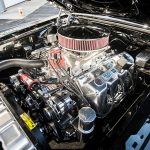 Paul Buffoni, Muscle Cars, Bravo Company Manufacturing, 1969 Ford Mustang Mach 1, engine