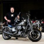 Paul Buffoni, Muscle Cars, Bravo Company Manufacturing, Harley-Davidson WLA 1951 Panhead reproduction motorcycle
