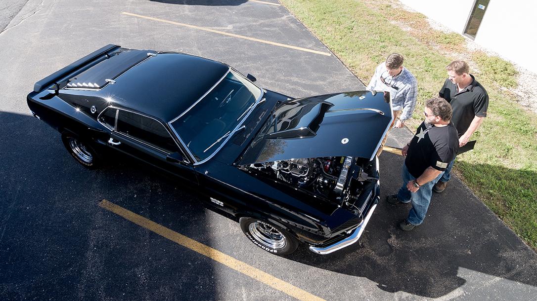 Paul Buffoni, Muscle Cars, Bravo Company Manufacturing, 1969 Ford Mustang Mach 1, car