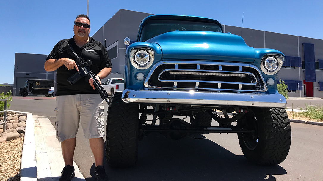 Frank DeSomma, Muscle Cars, Patriot Ordnance Factory, 1957 Chevy 502 truck