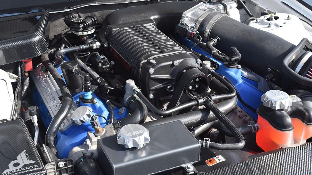 Michael Sigouin, Muscle Cars, Blowndeadline, 2011 Shelby GT500, engine