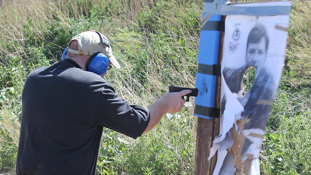 Pistol Whip Technique, self-defense, handgun drill