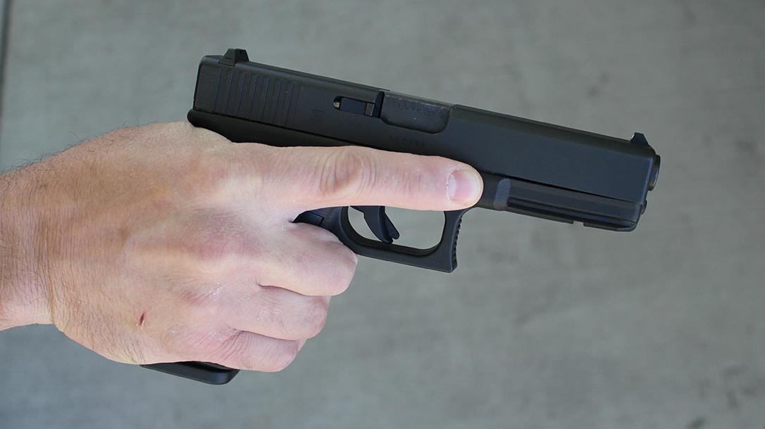 Pistol Whip Technique, self-defense, handgun grip