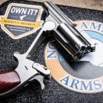 North American Arms Range II Revolver, pistol, cylinder