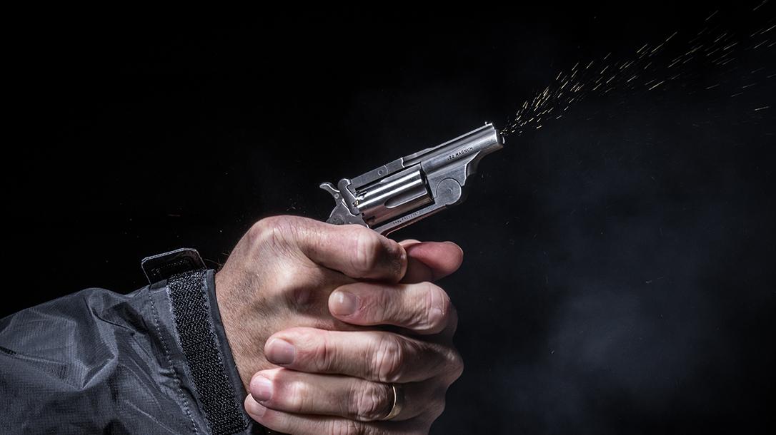 North American Arms Range II Revolver, pistol, fire
