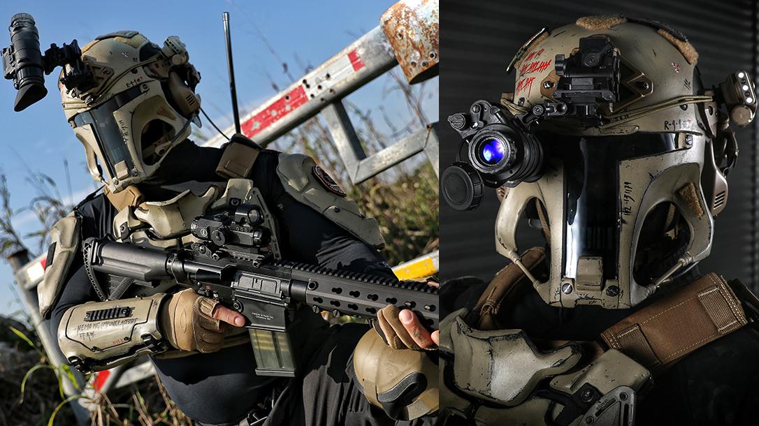 Space Force Uniform, Galac-Tac, guns