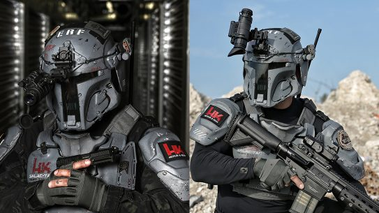 Space Force Uniform, Galac-Tac, rifles