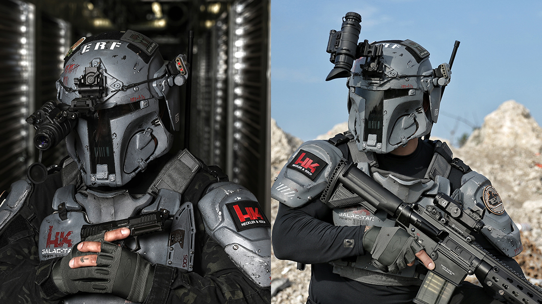 Space Force Uniform, Galac-Tac, rifles