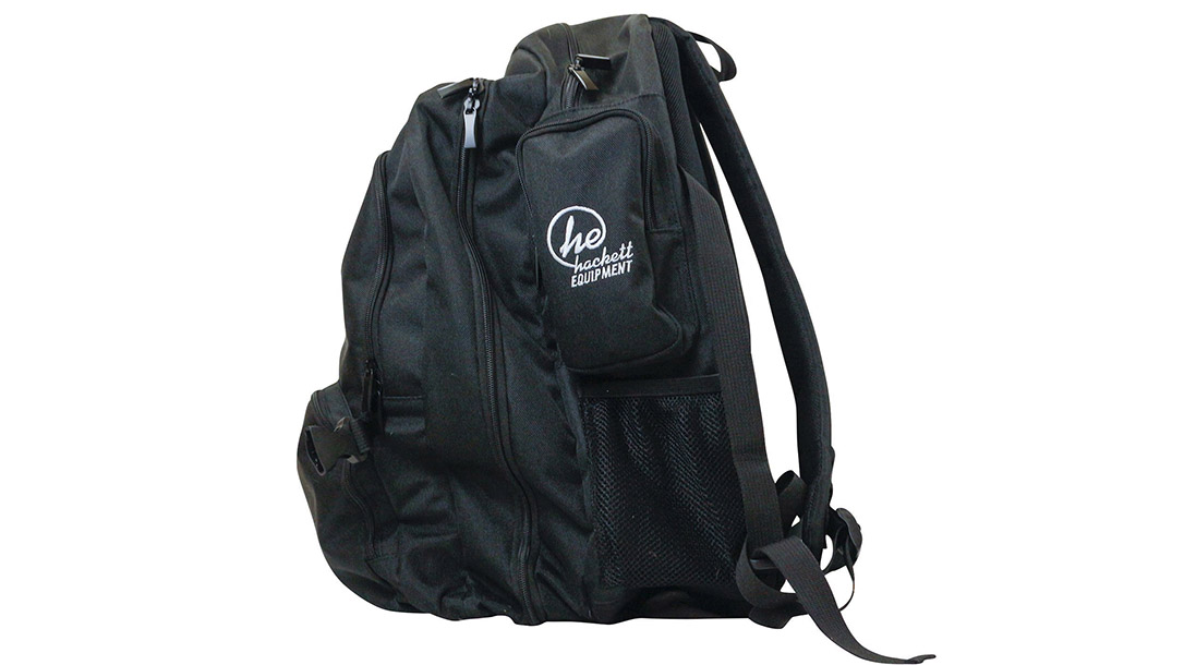 Ballistic Gear Grab, Hackett Equipment Big Bertha Range Backpack, profile
