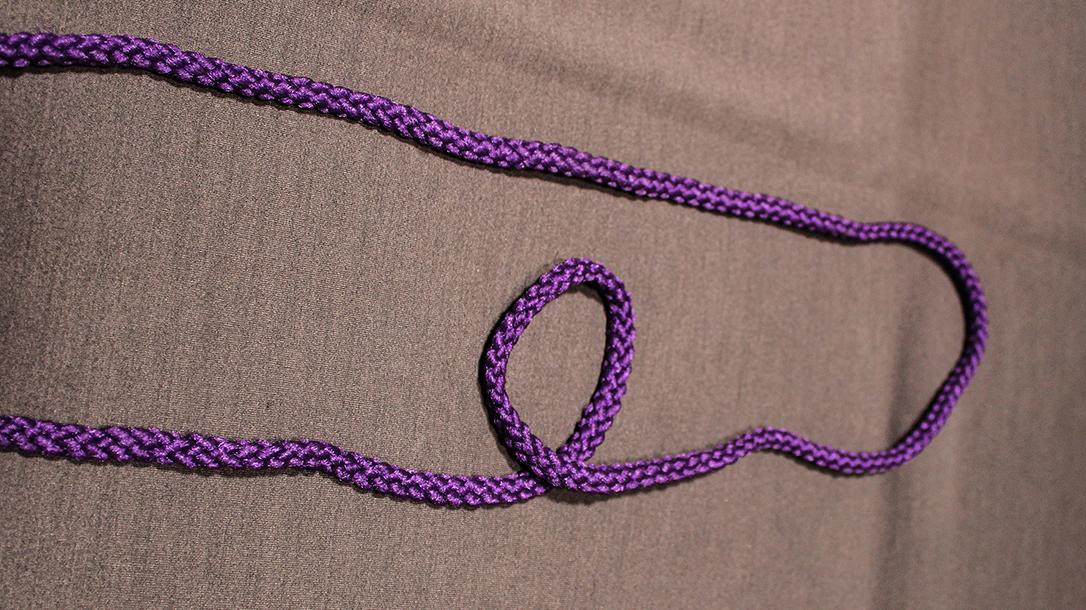 Rope Knots, Bowline Knot Step 2