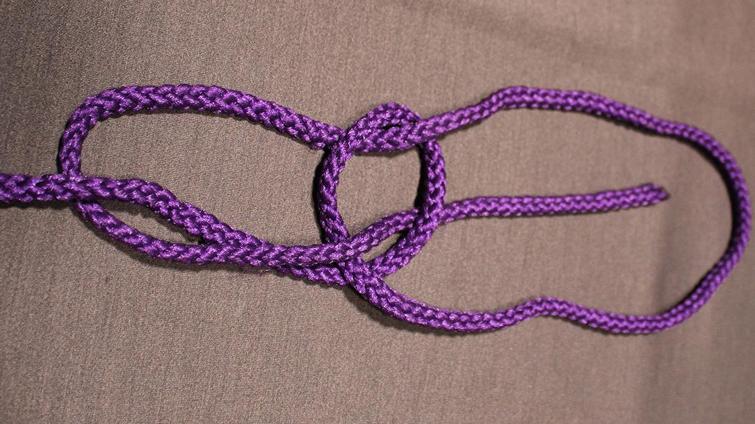 Rope Knots, Bowline Knot Step 4