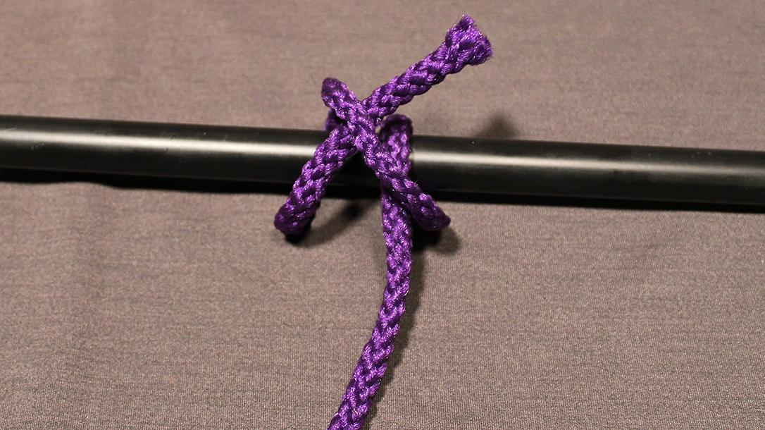 Rope Knots, Clove Hitch, Step 3