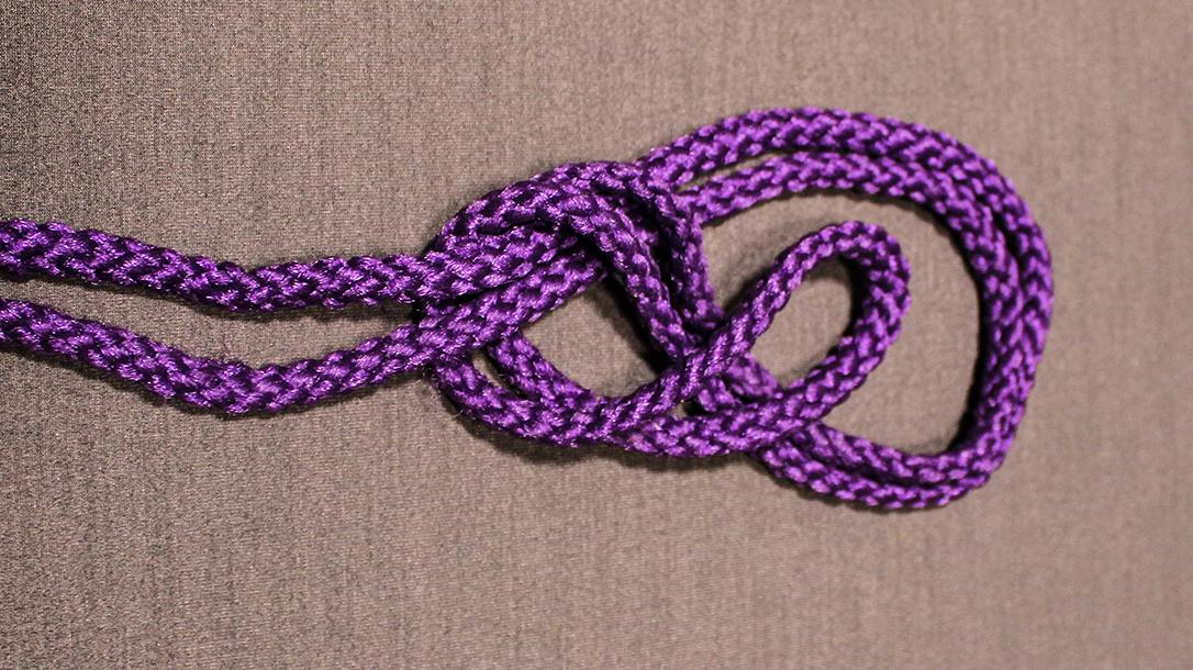 Rope Knots, Figure 8, Step 2
