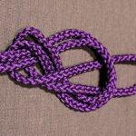 Rope Knots, Figure 8, Step 3