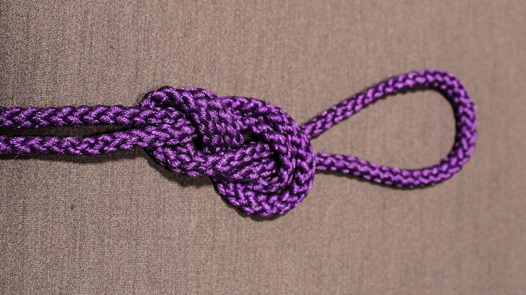 Rope Knots, Figure 8, Step 4
