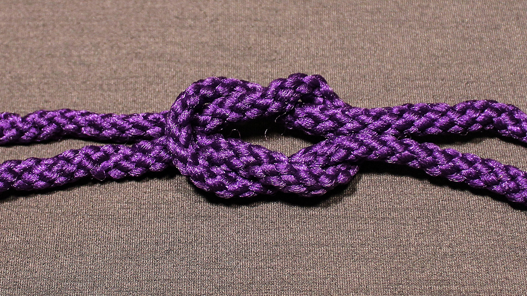 Rope Knots, Square Knot, Step 4