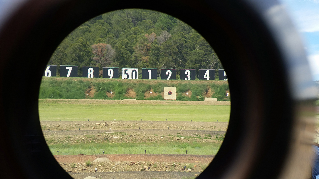 Declining Eyesight shooting, long-range shooting, scope