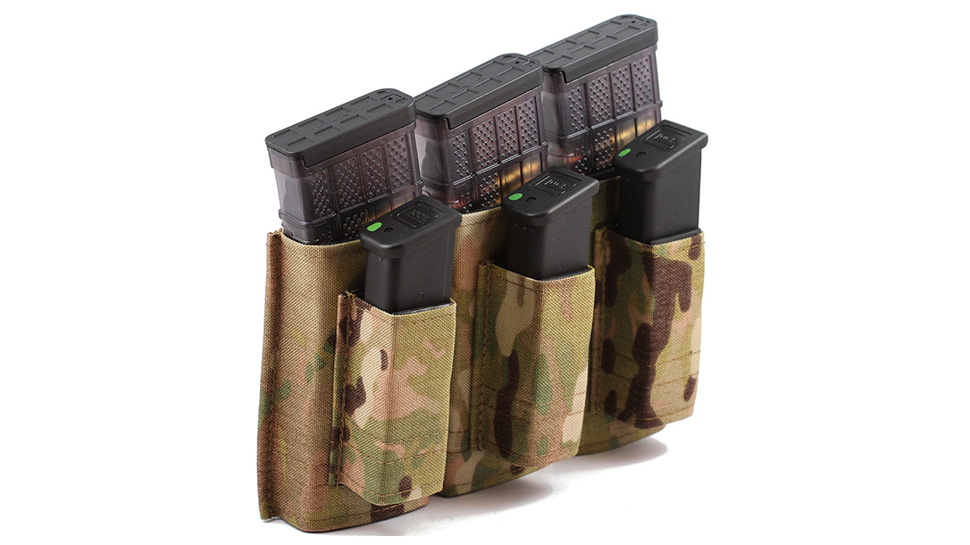 Mag Pouches, Ammo Accessories, Esstac 556 3+3 KYWI Tall