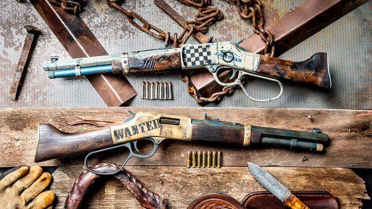 Henry Mare's Leg Rifles, .357 Magnum Mare's Leg, MAD Custom Coating, Blown Deadline Cerakote