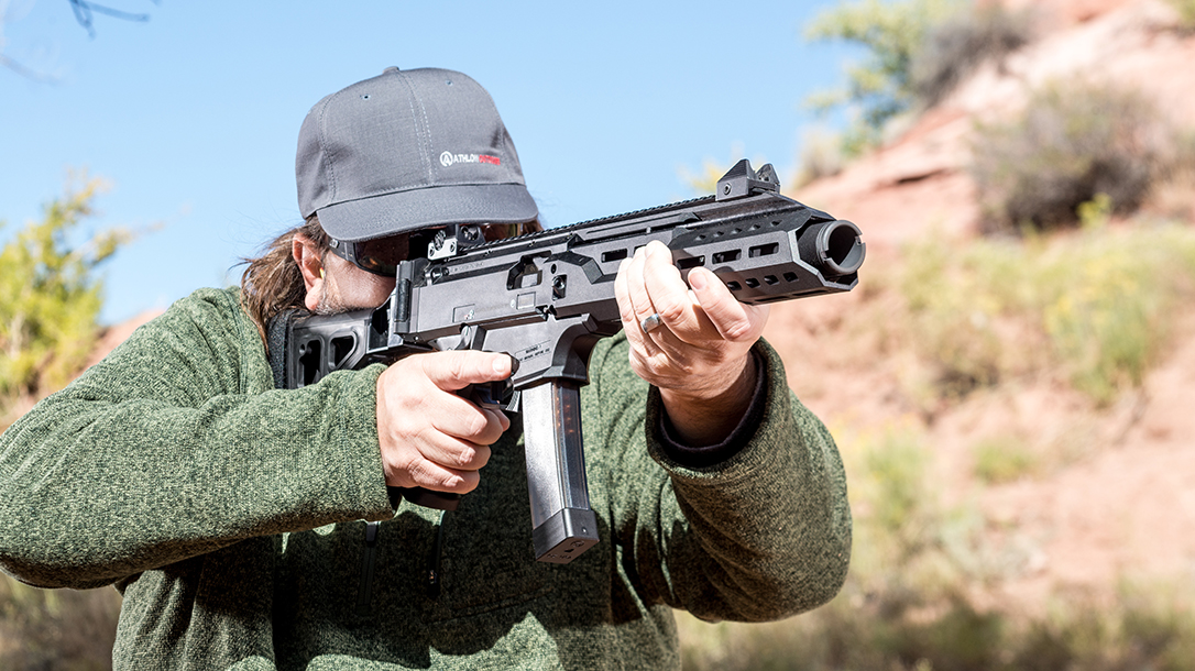 CZ Scorpion EVO 3 S1 Carbine review, Ballistic's best, lead