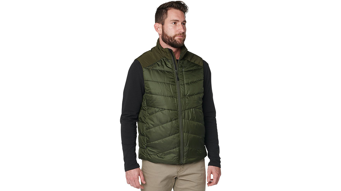 Ballistic Gear Grab, 5.11 Tactical Peninsula Insulator Packable Vest, EDC
