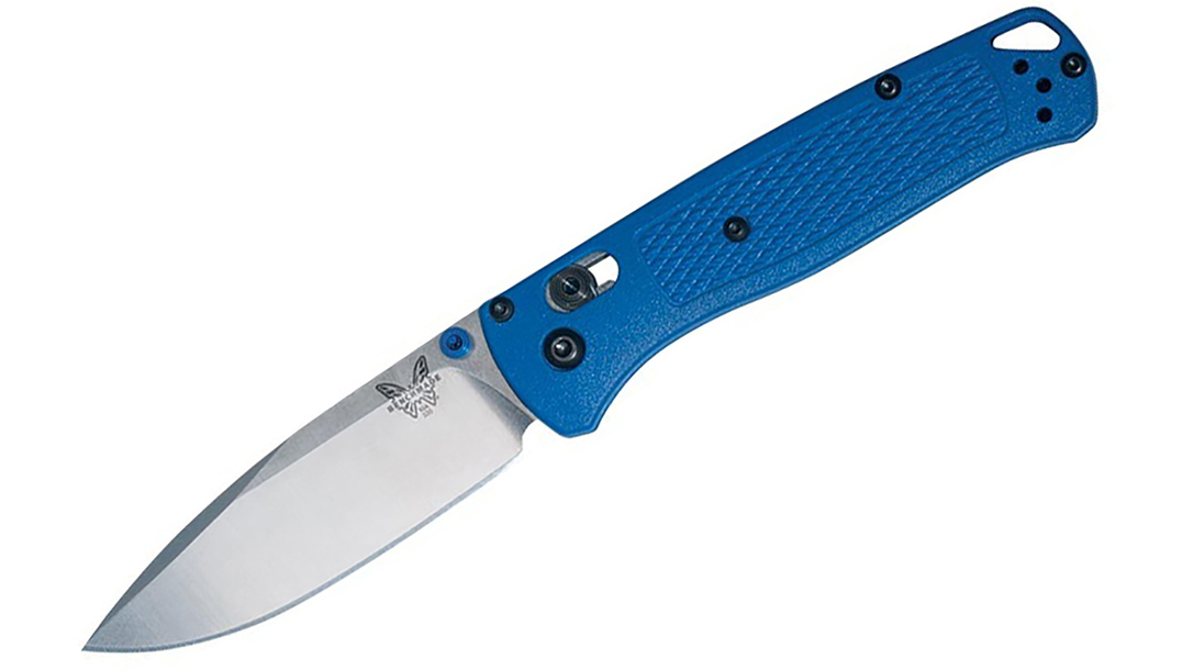 Ballistic Gear Grab, Benchmade Bugout Folding Knife, profile