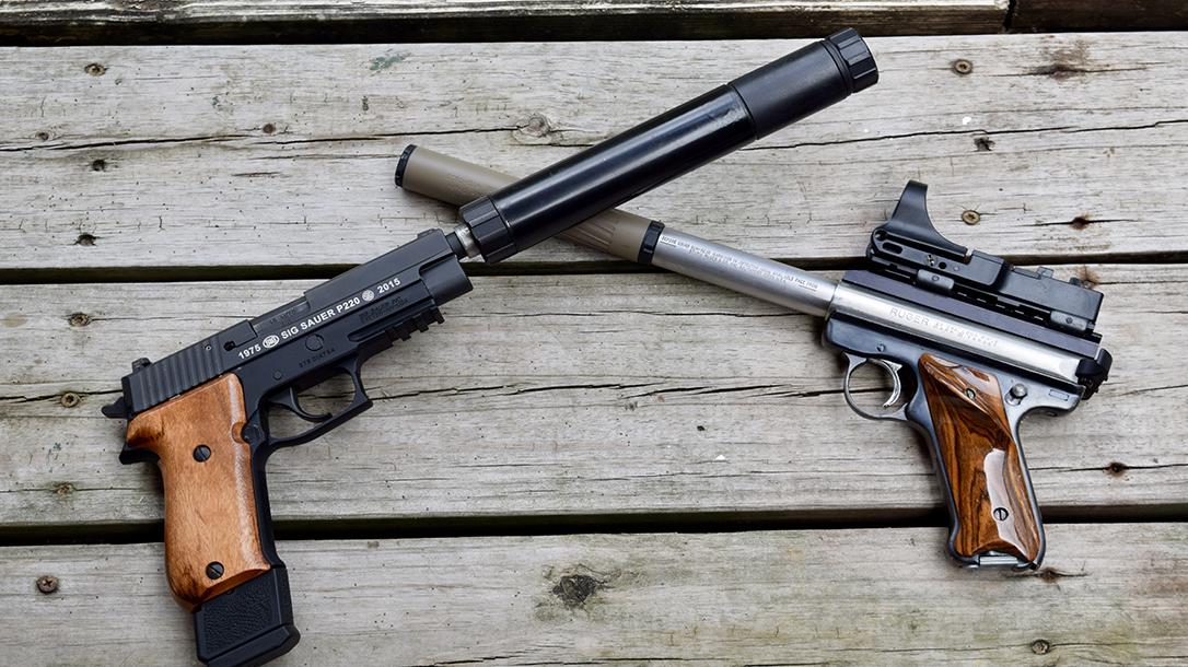 Purchasing Suppressors, BAFTE, two handguns