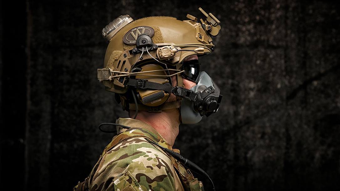 Team Wendy, Protective Helmets. military, side