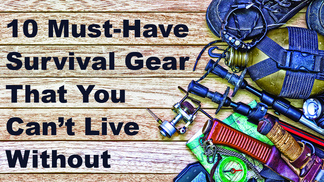 Survival gear, must-have gear, camping