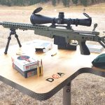 Hornady 300 PRC Cartridge, Rifle Cartridge, shooting bench
